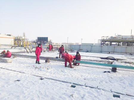 瑪18新增20萬方淺冷裝置等三個項目順利投產